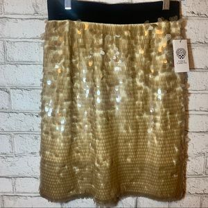 Vince Camuto sequin skirt